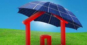 How should the solar panels be oriented