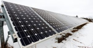 Is it possible to generate solar energy in the winter